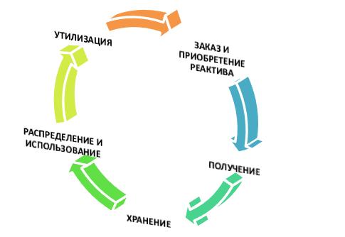 Жизненный цикл реактива