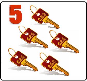 Пять ключей